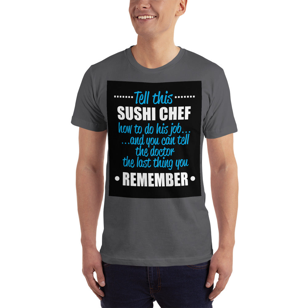 The Sushi Chef - Profession T-Shirt