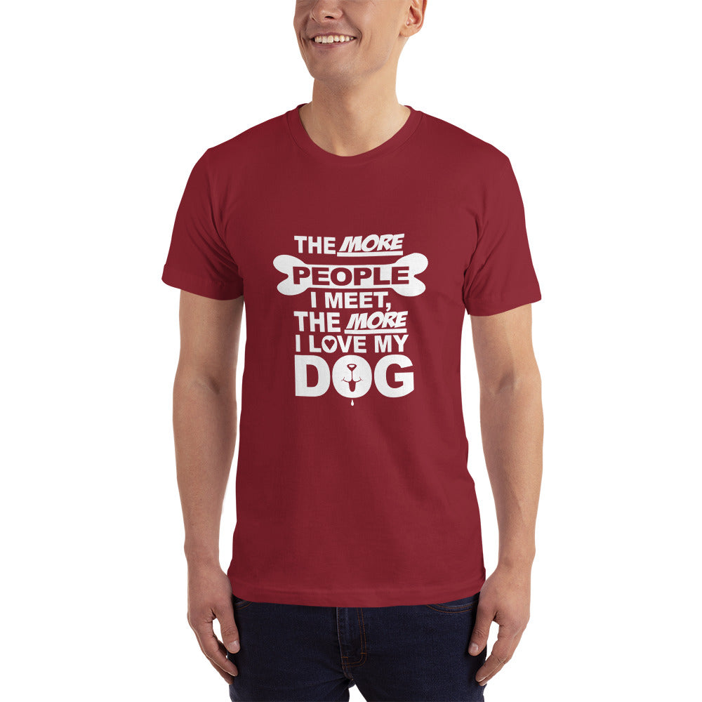 I Love my Dog - Dogs Lover T-Shirt
