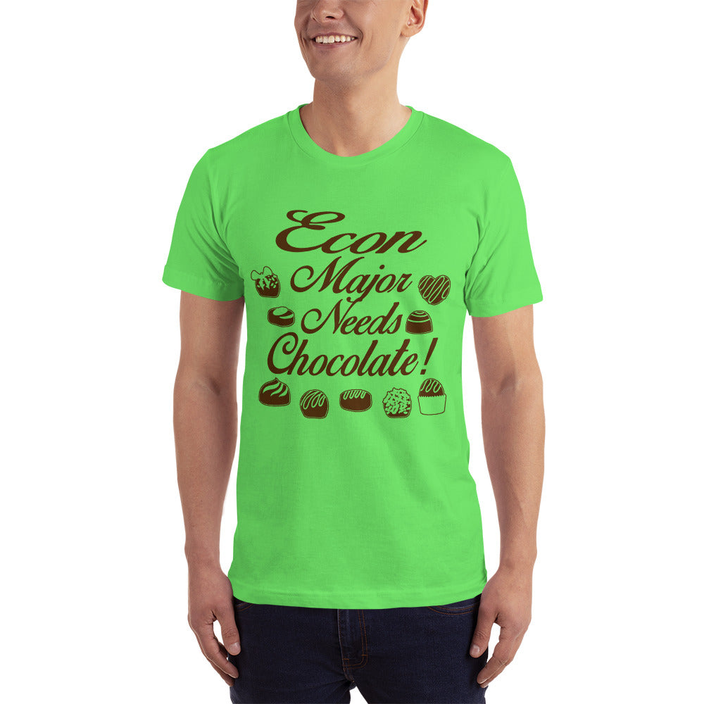 Econ Major Needs Chocolate - Hobby T-Shirt