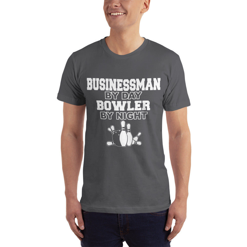 Business by Day Bowler by Night T-Shirt