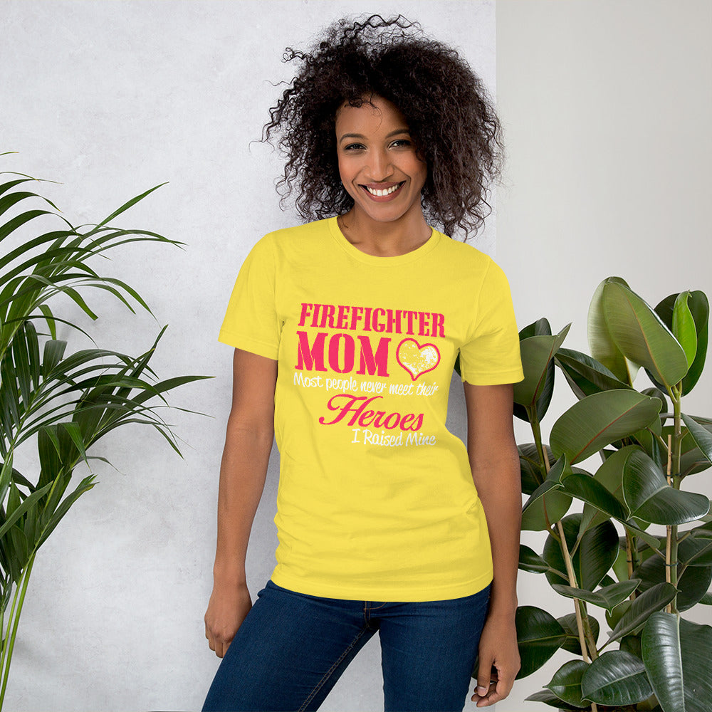 Fire Fighter MOM - Hero MOM Unisex T-Shirt