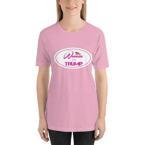 Women For trump Short-Sleeve Unisex T-Shirt