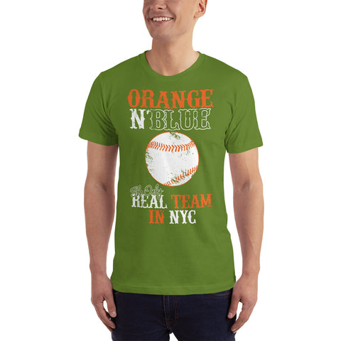 Real Team in NYC - Baseball Fan T-Shirt