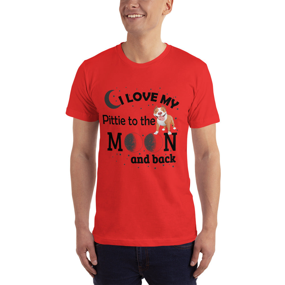 Love my Pittie - Dogs Lover T-Shirt