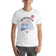 Invaders Bike Motor Cycle Club Short-Sleeve Unisex T-Shirt