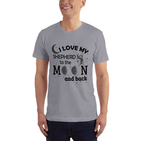 I Love my Shepherd - Dogs Lover T-Shirt