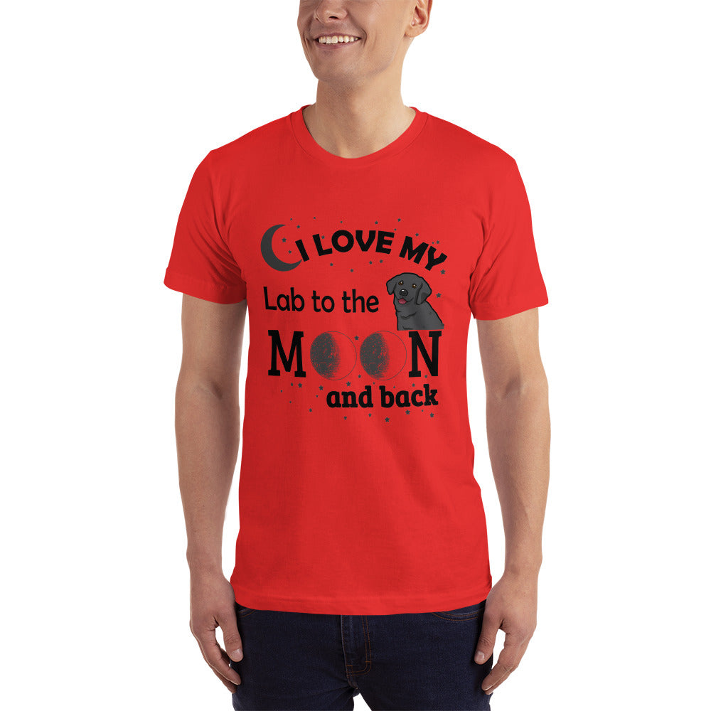 Love my Lab - Dogs Lover T-Shirt