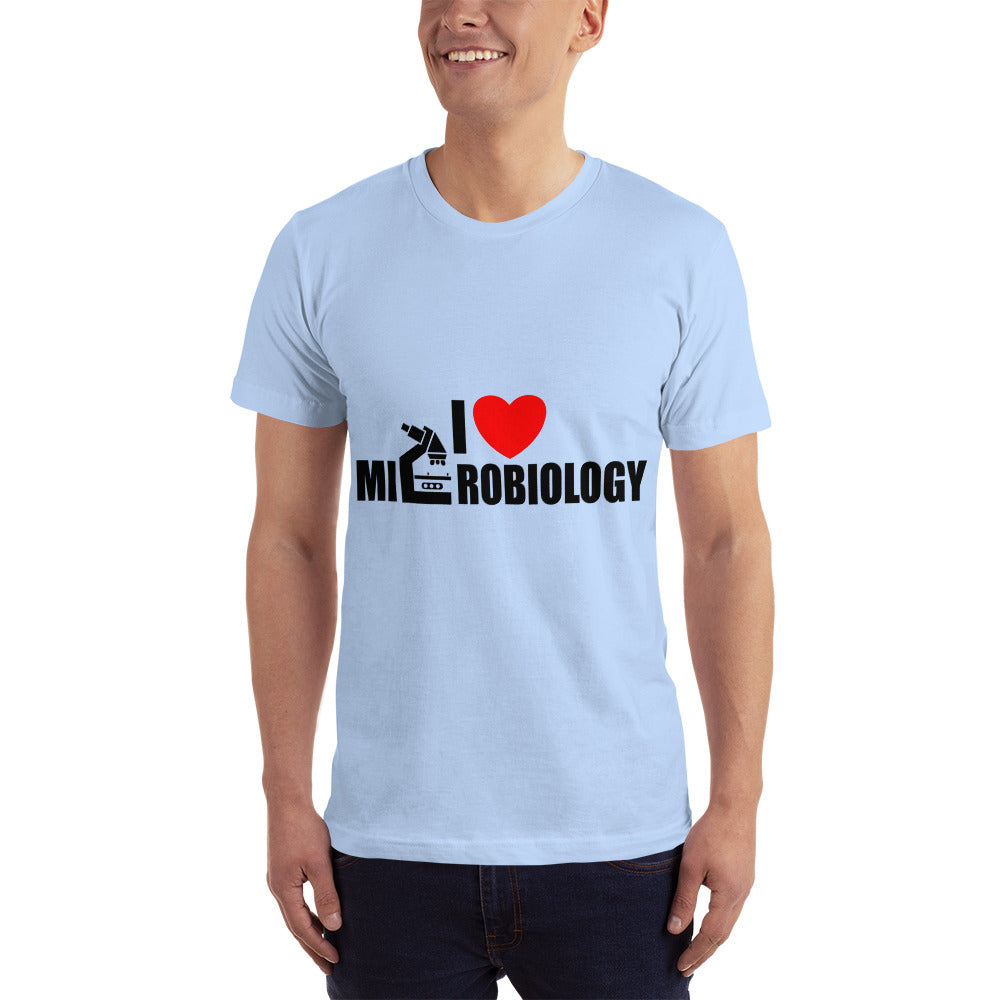 I Love Microbiology - Profession T-Shirt