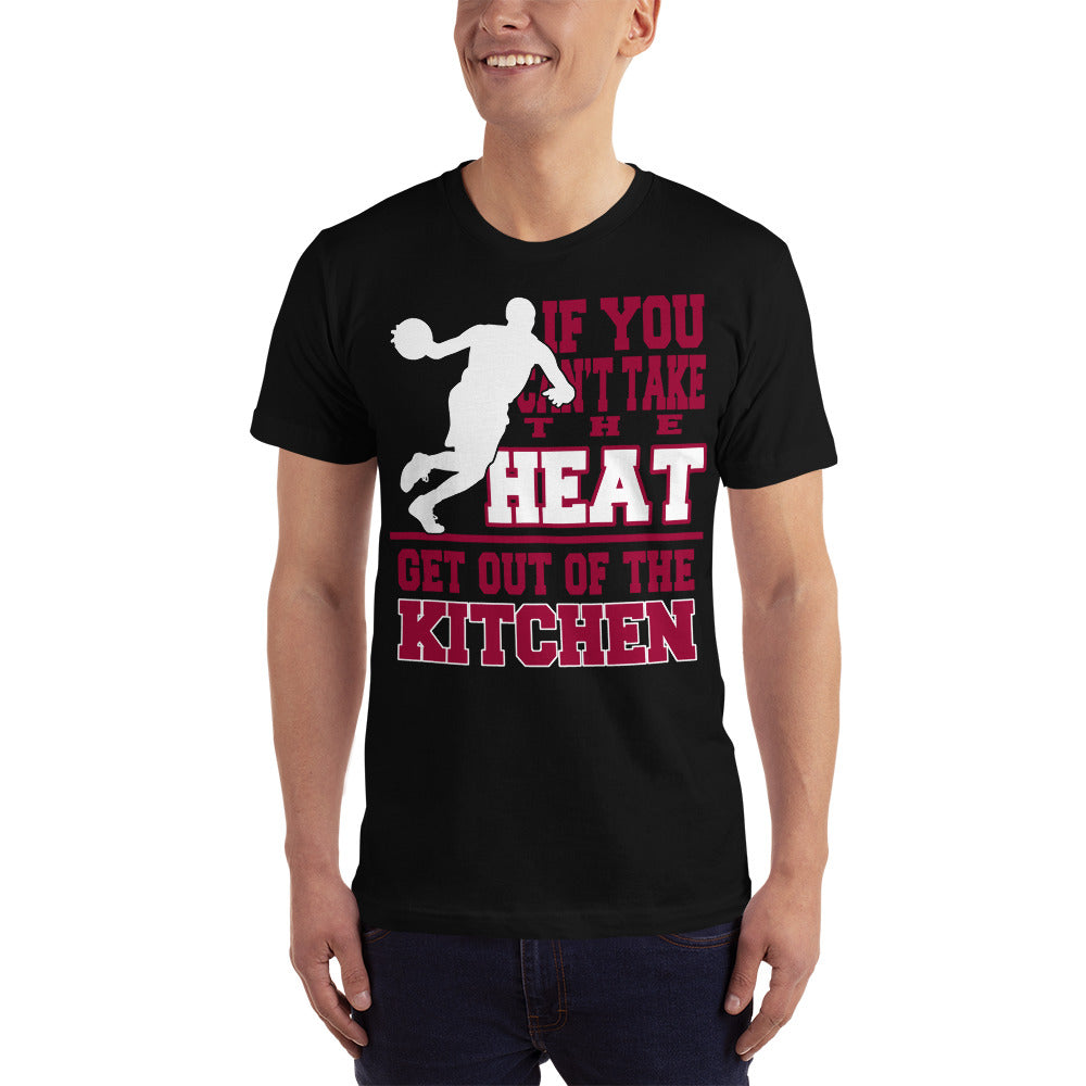 Get out of the Kitchen - Basketball Fan T-Shirt