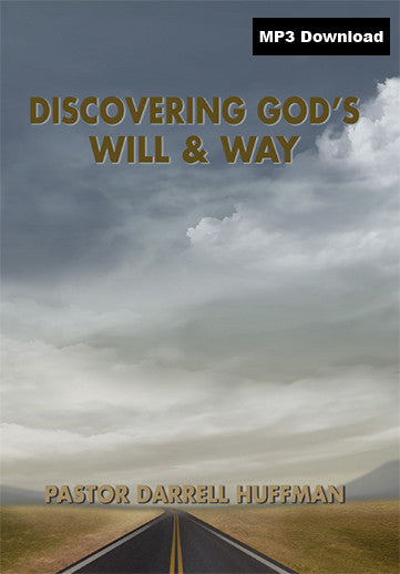 Discovering God's Will And Way MP3
