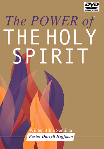 The Power Of The Holy Spirit DVD – Darrell Huffman Ministries