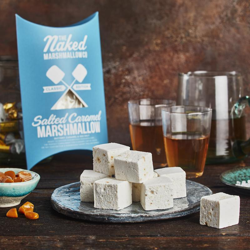 Salted Caramel Gourmet Marshmallows
