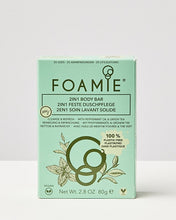 Load image into Gallery viewer, Foamie 2 in 1 Mint to be Fresh Body Bar