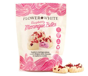 Flower & White - Meringue Bites - Raspberry