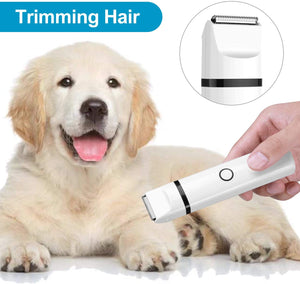 3 IN 1 Pet Grooming Machine Rechargeable Dog Cat