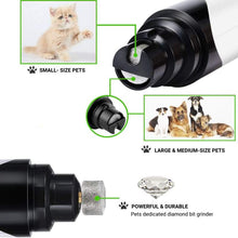 Load image into Gallery viewer, Premium Rechargeable Painless Pet's Nail Grinder (Upgraded Version)