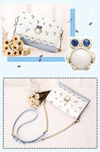 Load image into Gallery viewer, Luxury Diamonds Owl Small Clutch Bags