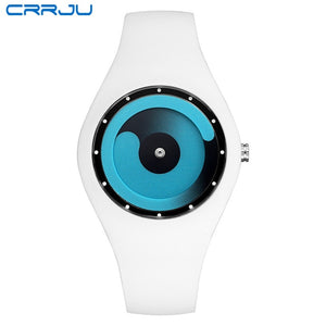 CRRJU Unisex Waterproof Sport Watch