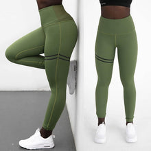 Load image into Gallery viewer, High Elastic Fitness Sport Leggings Tights Slim Running Sportswear Sports Pants Women Yoga Pants Quick Drying Training Trousers