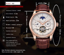 Load image into Gallery viewer, Mechanical Casual business Watch