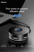 Load image into Gallery viewer, Baseus USB HUB USB C to Multi Ports USB3.0 USB 3.0 Type C HUB Splitter For Macbook Pro Air PC Computer USB-C Type-C HAB Adapter