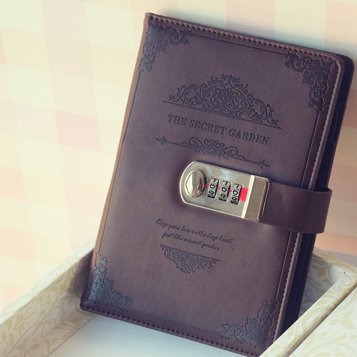 Luxury Notebook With Number Lock