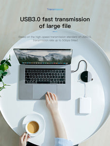 Baseus USB Type C HUB to USB 3.0 + USB2.0 for Macbook Pro HUB Adapter Qi Wireless Charger for iPhone XS Max Computer Accessory