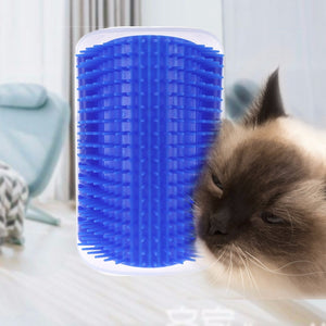 Pet Products For Cats Brush Corner Cat Massage Self Groomer Comb Brush Cat Rubs the Face with a Tickling Comb Cat Product