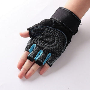 M-XL Gym Gloves Heavyweight Sports Exercise Weight Lifting Gloves Body Building Training Sport Fitness Gloves