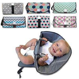 Portable Waterproof Changing Pad & Diaper
