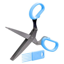 Load image into Gallery viewer, 5 Blades Kitchen Scissor