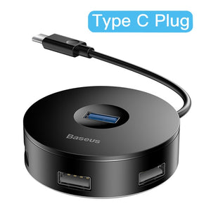 Baseus USB HUB USB C to Multi Ports USB3.0 USB 3.0 Type C HUB Splitter For Macbook Pro Air PC Computer USB-C Type-C HAB Adapter