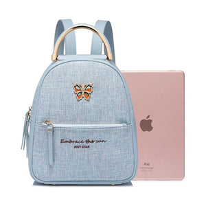 New - Butterfly Leather Bag