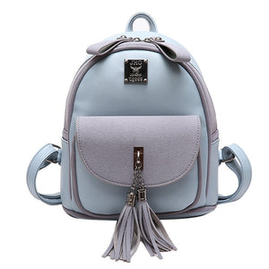 Mochilas Mujer Luxury Design Leather Bag
