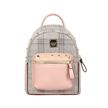 Load image into Gallery viewer, CUTE MINI LEATHER BACKPACK