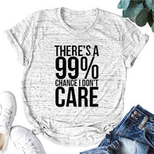 Load image into Gallery viewer, I DON'T CARE Women T-shirt