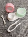 3 in 1 Pastel Lens Cases (Travel Kit)