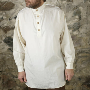 19th C Trade Shirt Off White