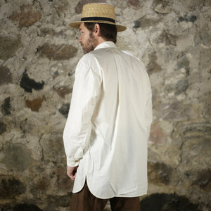19th C Trade Shirt Off White   SH-131