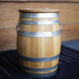 5 Gallon Oak Keg with lid