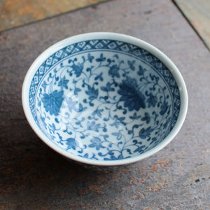 5-1/2 inch Trade Porcelain Bowl  S-3274