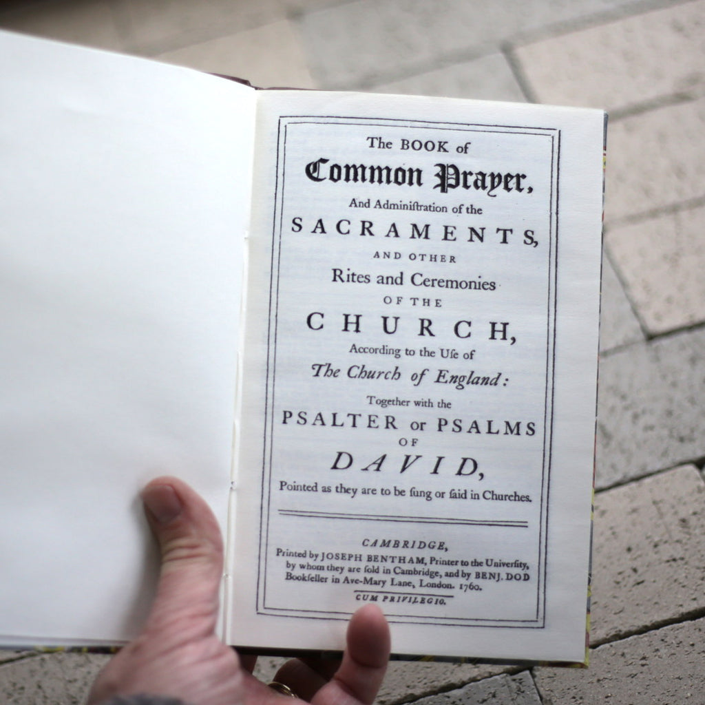 Book: A Book of Common Prayer