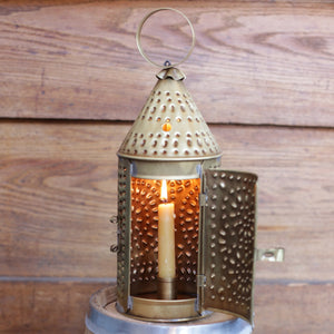 Medium Pierced Brass Lanterns   TL-14b