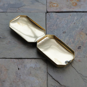 Octagonal Brass Box