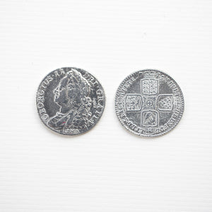 1745 English Shilling   CO-526