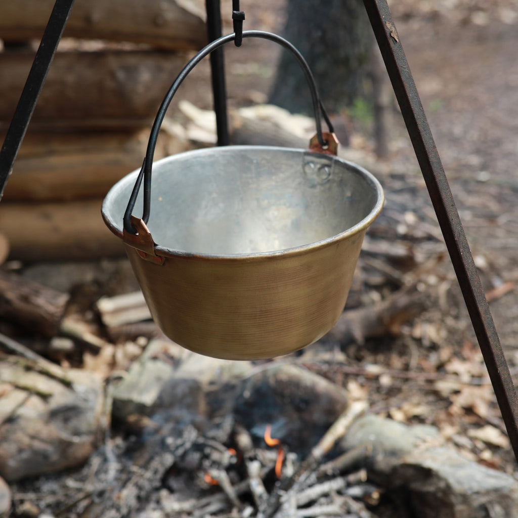 1 Gallon Brass Trade Kettle