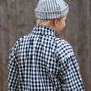 Boys' Workshirt Blue Checked