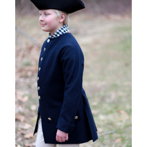 Boys' Costume Civilian Coat