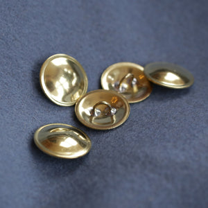Brass Buttons Small 5PK  BR-34S