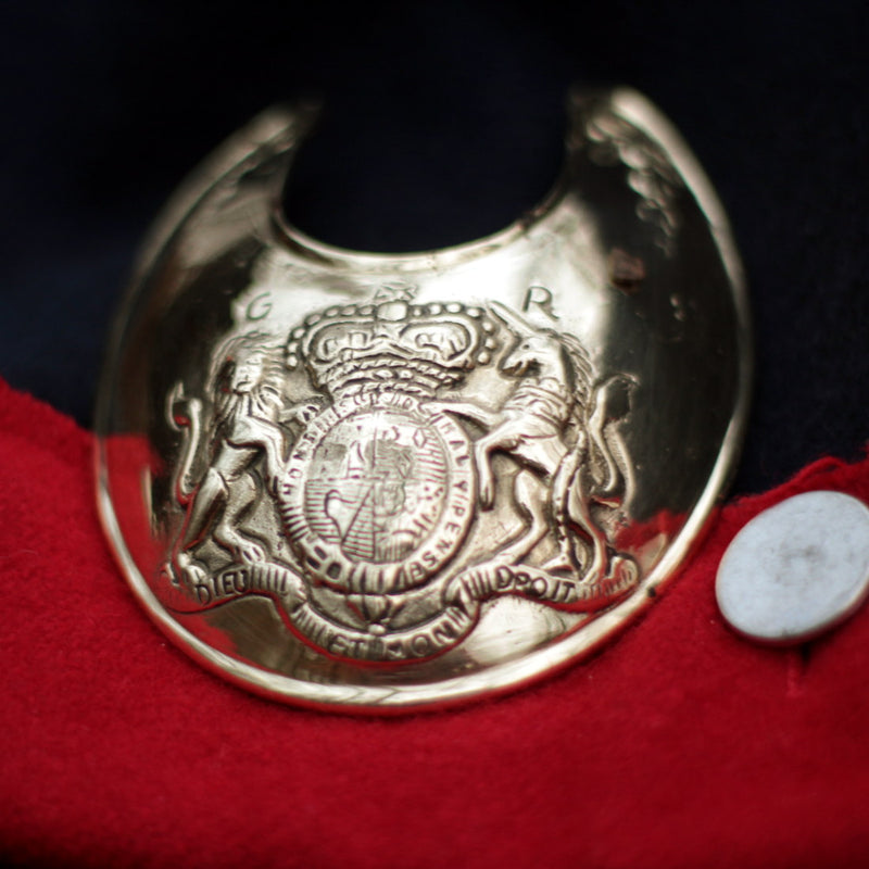 Gorget - Coat of Arms